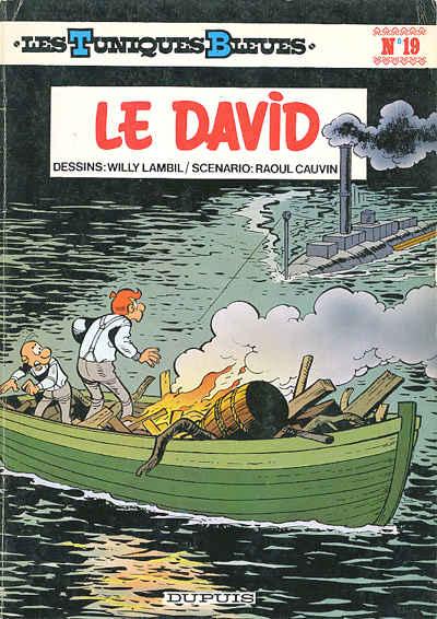 TUNIQUES BLEUES (LES) - Le David  - Tome 19 (a) - Grand format