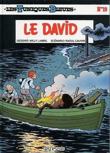 TUNIQUES BLEUES (LES) - Le David  - Tome 19 (c) - Grand format