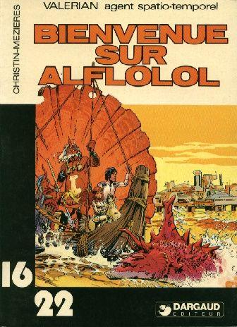 VALÉRIAN (16/22) - Bienvenue sur Alflolol  - Tome 5 (79) - Grand format