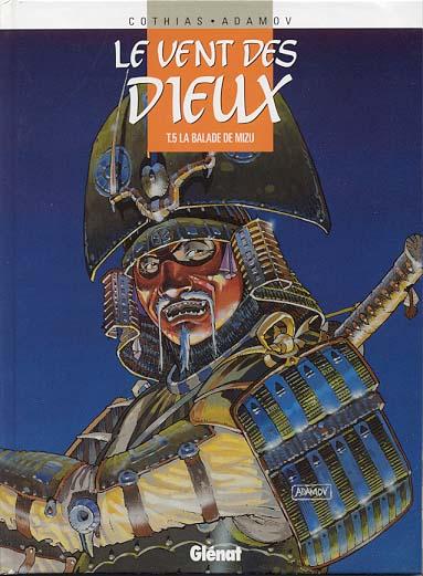 VENT DES DIEUX (LE) - La balade de Mizu  - Tome 5 (a) - Grand format