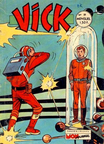 VICK - Quatre pas dans les étoiles  - Tome 20 - Moyen format