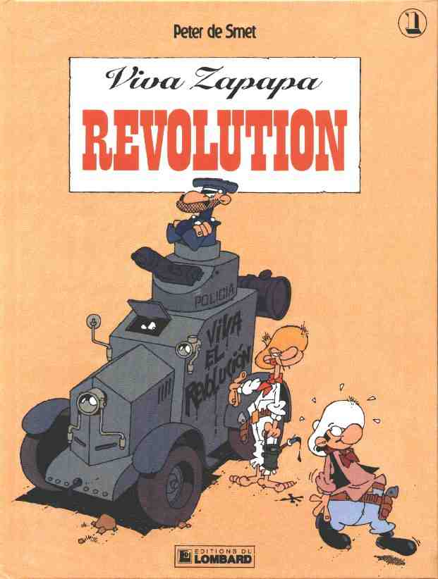 VIVA ZAPAPA - Révolution  - Tome 1 - Grand format
