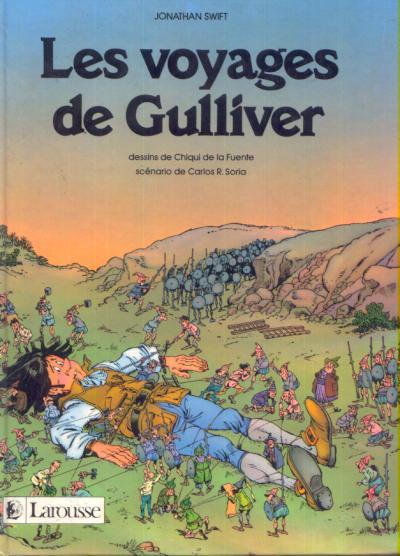 VOYAGES DE GULLIVER (LES) - Les voyages de Gulliver - Grand format