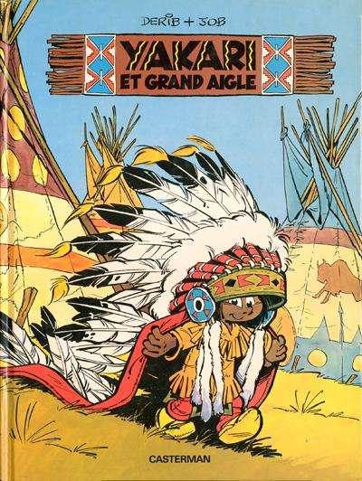 YAKARI - Yakari et Grand Aigle  - Tome 1 - Grand format
