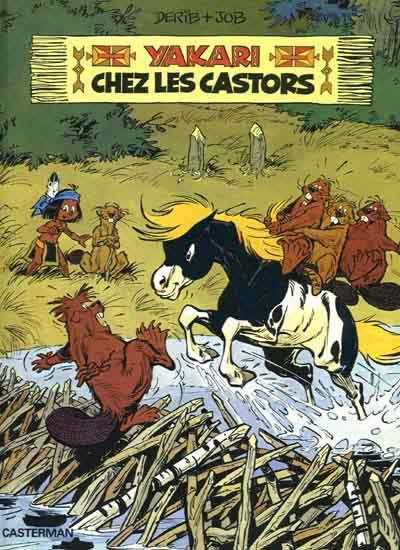 YAKARI - Chez les Castors  - Tome 3 - Grand format