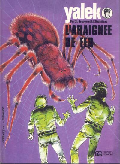 YALEK - L'araignée de fer  - Tome 2 (a) - Grand format