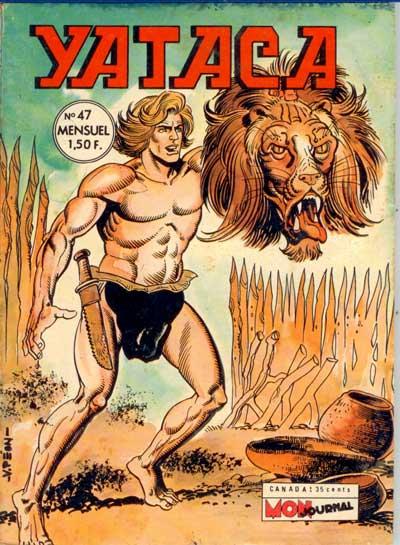 YATACA - Le lion fou  - Tome 47 - Moyen format
